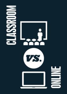 Classroom vs. Online main