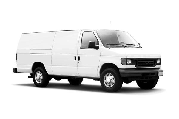 White Business Van