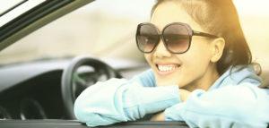 Girl-in-drivers-seat