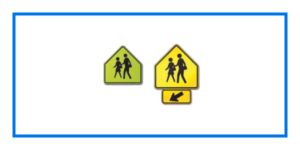 course pentagon sign shapes