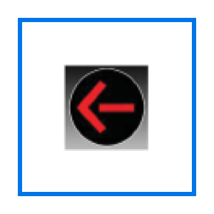red traffic arrow