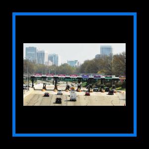 course toll plaza