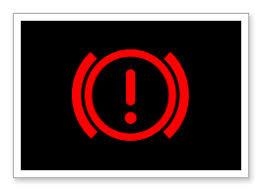 brake system warning light