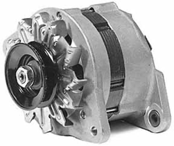 engine alternator isolated