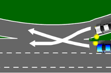 weave lane diagram