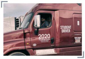 2020 class a driver student truck